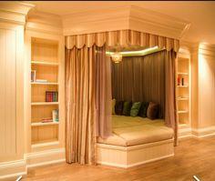 Cute Bedroom Ideas, Girl Bedroom Designs, Room Ideas Bedroom, Awesome Bedrooms, Cool Rooms, Bedroom Decor, Trendy Bedroom, Bed Ideas, Bedroom Curtains