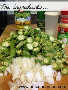 sauteed okra ingredients