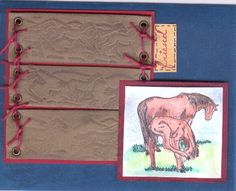STAMPIN' UP!  Equestrian Dream (retired set)