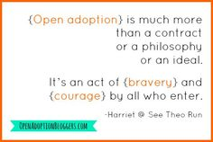 Open adoption takes courage