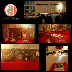 Simple & Classy Graduation Party! #ceandesigns
