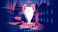 2020 Champions League Final logo revealed by UEFA Uefa Champions League, Real Madrid, Turkish Chef, Ucl Final, Liverpool Soccer, Medical Mnemonics, Lose Lower Belly Fat, Logo Reveal, Workout Humor