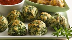 10-Minute Prep Spinach Cheese Balls