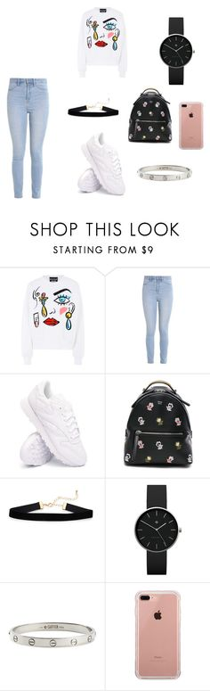 """Untitled #3"" by leen-2017 ❤ liked on Polyvore featuring Boutique Moschino, Hollister Co., Reebok, Fendi, Newgate, Cartier, Belkin, men's fashion and menswear"