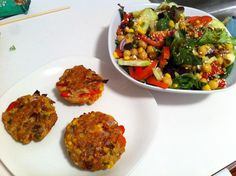 Spicy Tuna Veggie Patties — Vanessa Tib Fitness