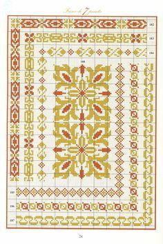 182 a 188 Cross Stitch Art, Cross Stitch Borders, Cross Stitch Alphabet, Cross Stitch Samplers, Cross Stitch Designs, Cross Stitching, Cross Stitch Embroidery, Embroidery Patterns, Cross Stitch Patterns