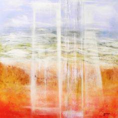 """""""ELEMENTOS"""" Acrílico sobre tela canvas 50x50 Autor: Guma  2013  Ref: 240"""