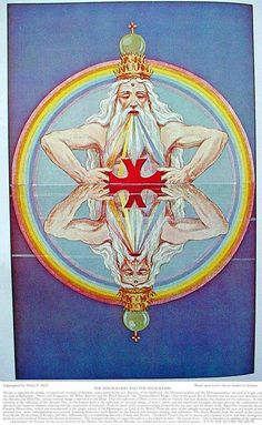 THE MACROCOSM OF THE MICROCOSM — MASONIC HERMETIC QABBALISTIC & ROSICRUCIAN SYMBOLICAL PHILOSOPHY by Manly P. Hall