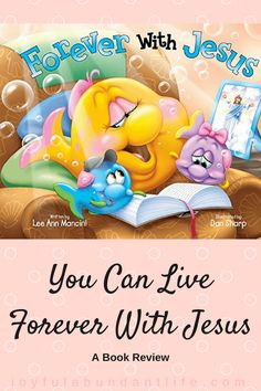 """In """"Forever with Jesus"""", the sea kids learn that Jesus died for their sins, and that by believing in Him they will live in heaven forever. Simple Prayers, Learning Methods, 80th Birthday, Kids Reading, Bible Lessons, S Word, Finding Joy, God Is Good, Fun Activities"""