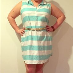 Spotted while shopping on Poshmark: Striped Shirt Dress! #poshmark #fashion #shopping #style #Old Navy #Dresses & Skirts