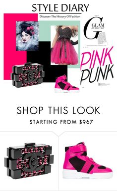 """""""punk princess"""" by tammysomerhalder ❤ liked on Polyvore featuring Chanel and Versace"""