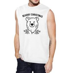 Perfect Christmas Gift Ideas For the Men in Your Life Top Christmas Gifts, Christmas Humor, Merry Christmas, Christmas Outfits, Muscle Tank Tops, Bear Men, Ugly Sweater, Sweaters, Muscle Men