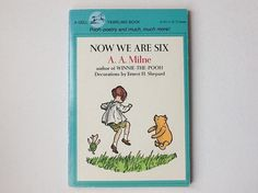 Now We Are Six, A A Milne, Vintage Book, Published by Dell, 1981, Paperback, 00652