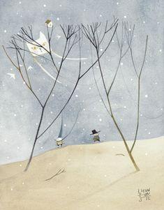 CLASSIC STORY INDIGO | Eunsil Chun illustration COPYRIGHT©BY CHUN EUNSIL ALL RIGHTS RESERVED
