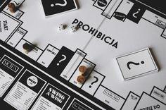 PROHIBICJA BOARD GAME DESIGN on Behance