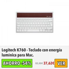 Teclado Logitech K760 para Mac. #ofertas #descuentos