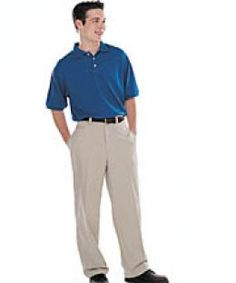 Sony Interview Attire For Men: Pressed khakis and a polo shirt.  NO JEANS PLEASE.