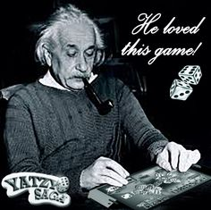 He was really hocked!!!#yatzy #yahtzee #poker #dice #yatzysaga #albert #einstein #play #game #mobile #ipad #ios