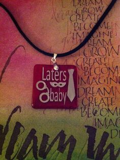 Laters baby Red Room Pendant