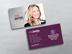 12 best berkshire hathaway realty agent business card templates real estate business card templates for berkshire hathaway agents we design print berkshire hathaway business cards accmission Images