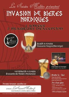 Great event coming the 8th and 9th of March in Paris !
