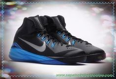 buy online 656a2 7feeb tenis de marca barato 654252-002 Preto Azul-Prata Nike Hyperdunk 2014 GS