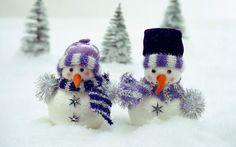 snowmen | Snowmen Steam Trees | 1440 x 900 | Download | Close