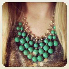 Jolie Necklace (Green Caroline Channing?) Instagram   Stella & Dot