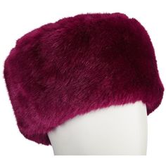 John Lewis Faux Fur Cossack Hat , Claret (1.670 RUB) ❤ liked on Polyvore featuring accessories, hats, claret, sport hats, john lewis hats, cold weather hats, sports hats and faux fur hat