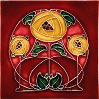Historic Style - C.R. Mackintosh - Tiles