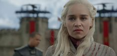 """Spoilers ahead for Game of Thrones Season Episode King's Landing is burning, and the Mother of Dragons herself is just as rattled as you are. In a stunning upset, the penultimate episode of Game of Thrones Season """"The Bells,"""" laid… Game Of Thrones Prequel, Game Of Thrones Episodes, Game Of Thrones Series, Game Of Thrones Facts, Game Of Thrones Funny, Jaime Lannister, Cersei Lannister, Daenerys Targaryen, Sansa Stark"""