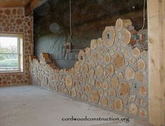 In the mid-70's Cliff Shockey of Vanscoy, Saskatchewan, Canada decided to build and energy efficient home of cordwood, but since he lived where the temps would go down to -50, he decided to b…