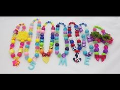 Chunky Necklace Tutorial #1: Making necklace with nylon cord