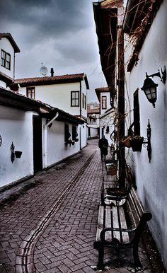Old Ankara Houses / Hamamonu street, Ankara, Turkey