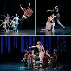 New York City Ballet in Balanchine's 'A Midsummer Night's Dream' Photos © Paul Kolnik