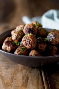 These Moroccan Lamb Meatballs are simple to make and there are some fabulous spices in these amazing flavour packed meatballs. Lamb Recipes, Meatball Recipes, Meat Recipes, Cooking Recipes, Healthy Recipes, Tagine Recipes, What's Cooking, Greek Recipes, Party Food Meatballs