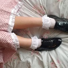 Victorian princess Princess Aesthetic, Aesthetic Girl, Frilly Socks, Emo Girls, Elle Fanning, Boot Socks, Shoe Boots, Shoes, Gingham