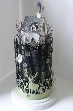 My Owl Barn: Helen Musselwhite: Glass Domes