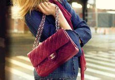 Bordeaux Chanel Bag