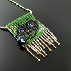 Bead loom pendant