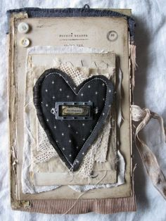 dotted heart - inspiration - Moments...notebook by Nellie Wortman, EarlyMorningThoughts via etsy