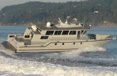 Expedition Yachts, Utility Boat, Family Boats, Sport Fishing Boats, Landing Craft, Deck Boat, Below Deck, Cool Boats, Aluminum Boat