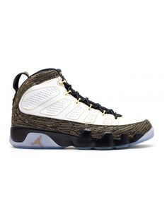 c398068eaefe Air Jordan 9 Retro Db Doernbecher White Metallic Gold Black 580892 170