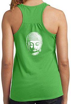 Yoga Clothing For You Ladies Buddha Racerack Tank Top