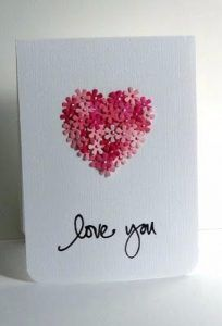 DIY Valentines Day Cards - Love You Card - Easy Handmade Cards for Him and Her, Kids, Freinds and Teens - Funny, Romantic, Printable Ideas for Making A Unique Homemade Valentine Card - Step by Step Tutorials and Instructions for Making Cute Valentine's Day Gifts http://diyjoy.com/diy-valentines-day-cards