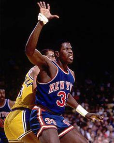 ef8bb5475 Patrick Ewing. Jean Lefebvre · New York Knicks