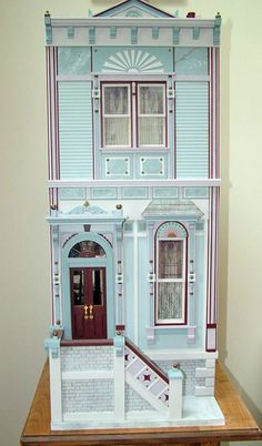 Susan Robbins Painted Lady Victorian  I have this same house. Maybe I'll finish it someday?