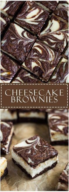 Cheesecake Brownies | Marsha's Baking Addiction More