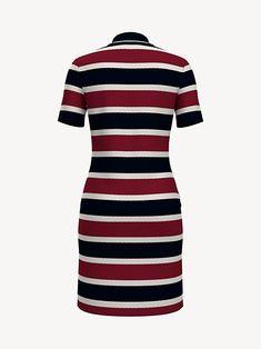 Tommy Hilfiger Tjw Essential Stripe Dress Vestido para Mujer