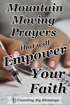 Mountain Moving Prayers that will Empower Your Faith | CMB
